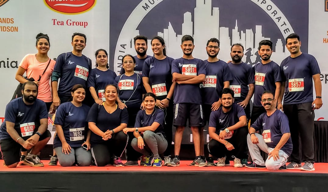 Corporate Run HO team Nov 2018